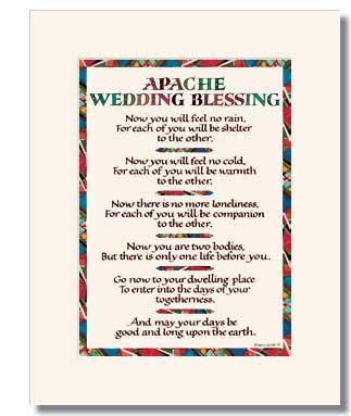 Apache Wedding Blessing