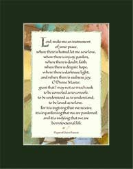 st francis prayer