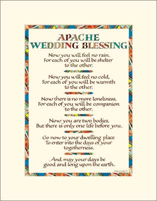 apache wedding blessing